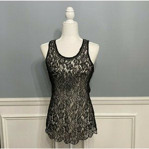 Romeo and Juliet Couture Embellished Lace Top Slee
